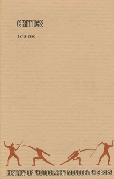 , 1985. First edition. History of Photography Monograph Series Special Edition No. 1. 8vo., ix, 114 ...