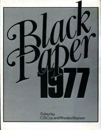 image of Black Paper, 1977 (Signed By Author)