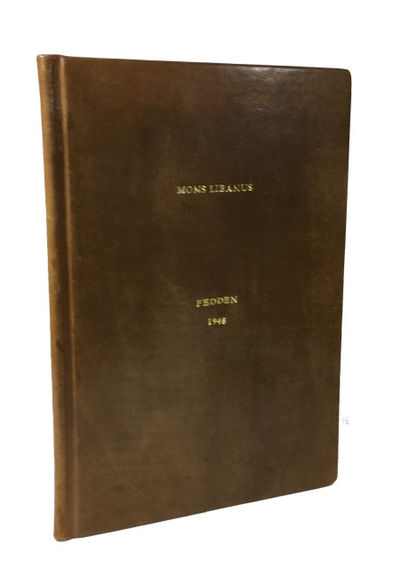 : Privately printed at the Press of the Institut Francais d'Archeologie Orientale, 1945. 1st ed. Har...