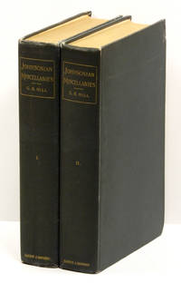 JOHNSONIAN MISCELLANIES; [Two volumes]