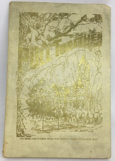Tacoma, WA, c. 1920. Wraps. Gilt illustrated and embossed wraps. Good. 132 pages. 23 x 15.5 cm. Hand...