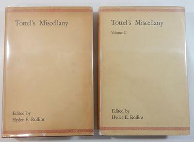 Cambridge: Harvard Univertsity Press, 1929. First edition. Hardcover. Fine/Very good plus. Two volum...