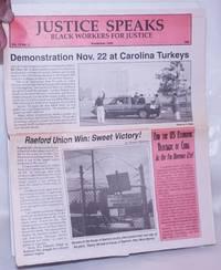 image of Justice Speaks: Vol. 12 No. 3, November 1994