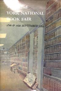 The 22nd York National Book Fair, 15th & 16th September 1995. The Barbican  Centre.