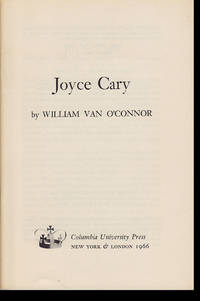 Joyce Cary (Columbia Essays on Modern Writers, No. 15)