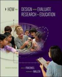 image of How to Design and Evaluate Research in Education
