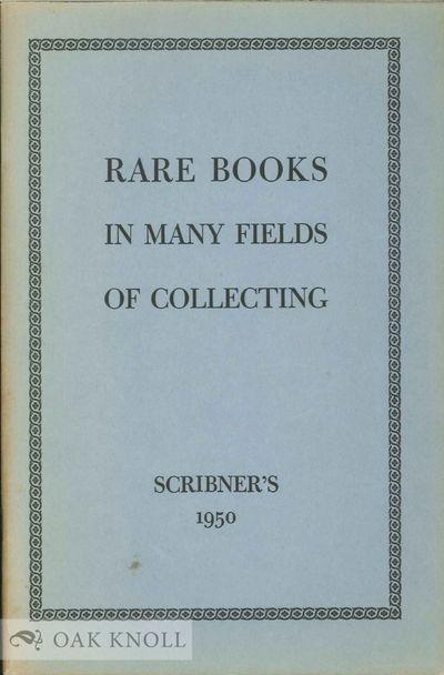 New York: The Scribner Book Store, n.d.. stiff paper wrappers. Scribners. 8vo. stiff paper wrappers....