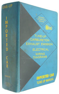 National Service Data Imported Car Tune-Up Manual, 1962-1970 (Glenn Mitchell Manuals)