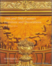 19th and 20th CENTURY FURNITURE AND DECORATIONS : Belle Epoque Series