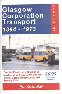 image of Glasgow Corporation Transport 1894 - 1973 Fleetlist