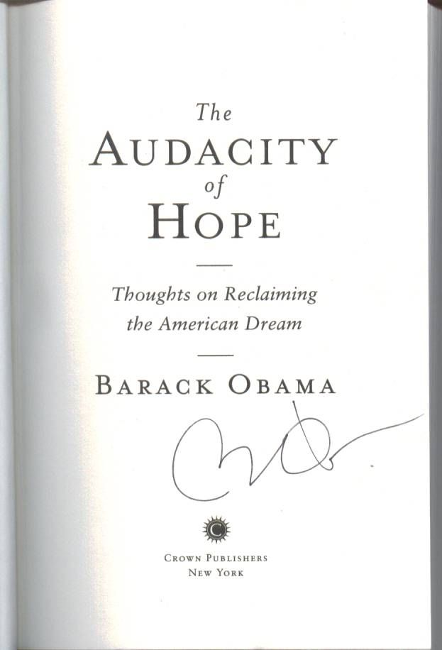 a literary analysis of the audacity of hope thoughts on reclaiming the american dream