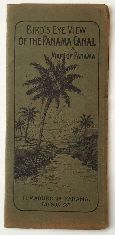 Panama: I.L. Maduro, 1910. Good plus.. Folding map, 18 x 24 inches. Original printed wrappers. Light...