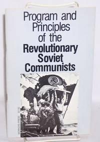 Program and principles of the Revolutionary Soviet Communists