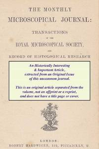 The So-called Suckers of Dytiscus and The Pulvilli of Insects. A rare original article from the...