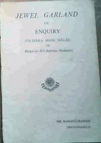 Jewel Garland of Enquiry (Vichara Mani Malai)