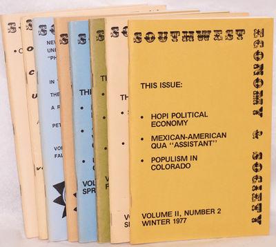 Albuquerque, Altadena, Glendale: Southwest Economy and Society, 1977. Nine issues of the staplebound...