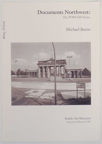 Seattle, WA: Seattle Art Museum, 1987. First edition. Exhibition brochure for a show that ran Februa...