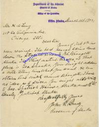 A Letter About The Fur Trade By Alaska Governor John G. Brady