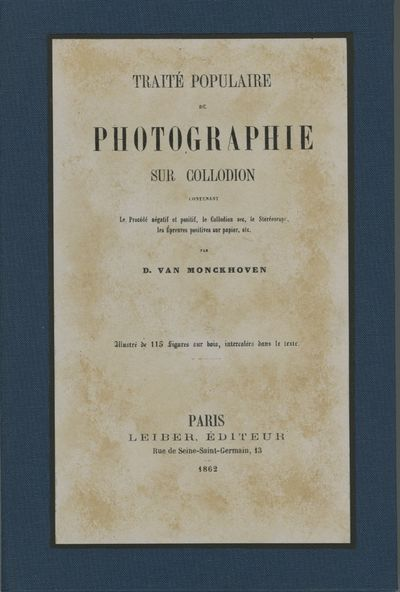 Paris: Leiber Éditeur, 1862. First edition. 8vo., 212 pp., illustrated. New facsimile paper wrapp...