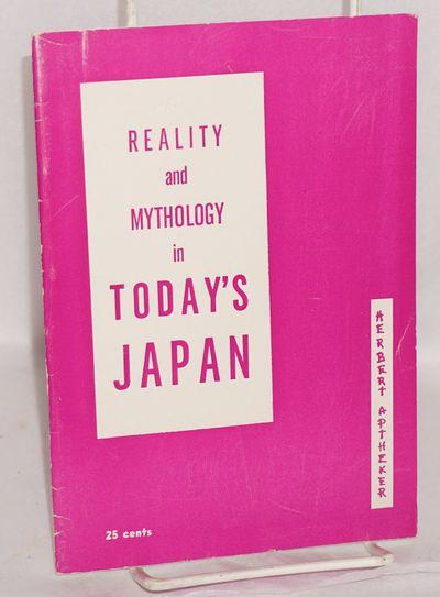 New York: New Century Publishers, 1961. Pamphlet. 22p., stapled wraps, 5.25x7.5 inches, wraps slight...