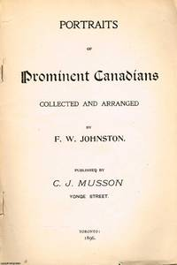 image of Portraits of Prominent Canadians