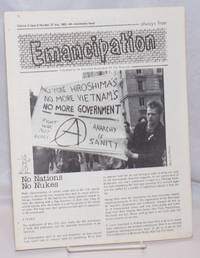 image of Emancipation: formerly the Anarchy Times; Vol. 5, No. 6, (No. 37), July 1982-4th Anniversary Issue!