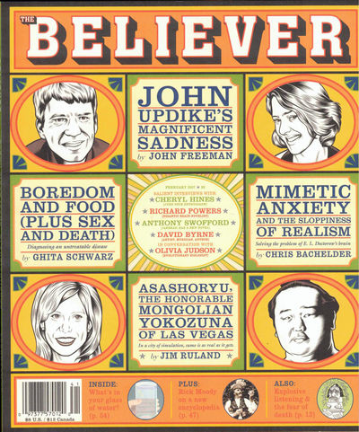 SF: The Believer, 2007. Paperback. Very good. Very good in publisher's wraps.