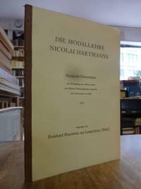 Die Modallehre Nicolai Hartmanns,