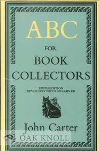 ABC FOR BOOK-COLLECTORS 6TH ED
