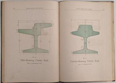 San Francsico, California: Pacific Rolling Mill Company, 1890. 8vo. 250 x 170 mm., . 100 pp., plus 4...