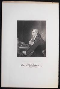 image of Francis Hopkinson; Engraved by J. B. Longacre from the Painting by Pine in possession of J. Hopkinson Esqr. [engraved print]