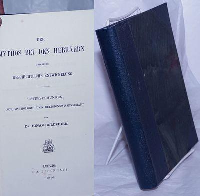 Leipzig: F.A. Brockhaus, 1876. Hardcover. xxxi, 402p., hardbound in 8.5x5.5 inch marbled boards unde...