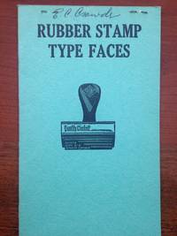 Rubber Stamp Type Faces Small Catalog.