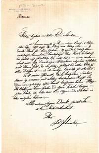 "Autograph letter signed; ""Fritz Unruh,"" to René Schickele, December 8, 1932"