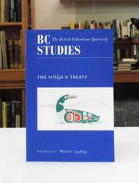 image of BC Studies, The Nisga'a Treaty, No. 120 Winter 1998/99