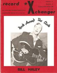 RECORD EXCHANGER,  Volume 4, No. 4,  Consecutive Issue 20,  1974:; The First and Foremost Publication Covering the History of Rock and Roll