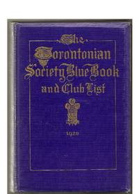 The Torontonian Society Blue Book and Club List