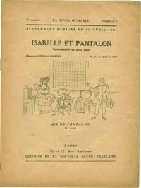 ISABELLE ET PANTALON