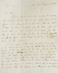 ALS. To Hon. William Marcy, Albany