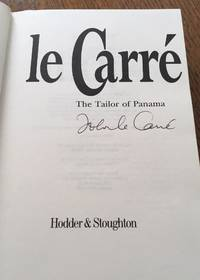 THE TAILOR OF PANAMA. by Le CARRE. JOHN - Signed First Edition - from Paul Foster Books and Biblio.com