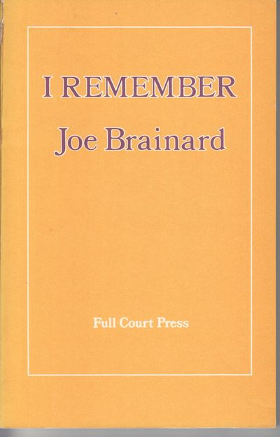 New York: Full Court Press. 1975. First Edition; First Printing. Softcover. Wraps, near fine but for...