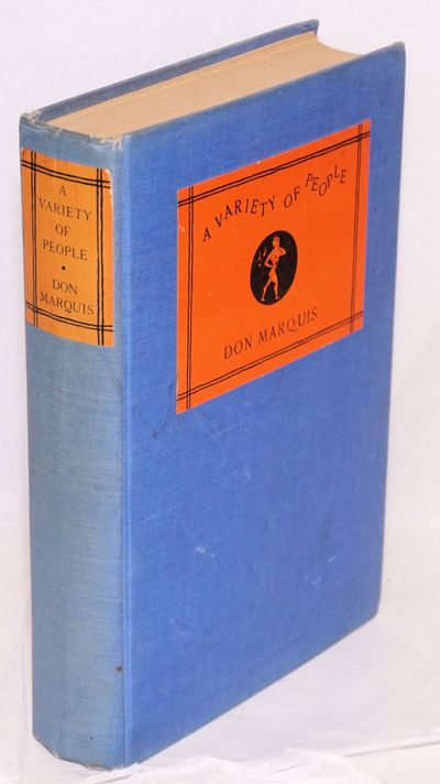 Garden City: Doubleday, Doran & Co, 1929. Hardcover. 316p., first edition (so stated) in blue cloth ...