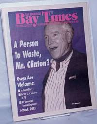 image of San Francisco Bay Times: the gay/lesbian/bi/trans newspaper_calendar of events for the Bay Area; [aka Coming Up!] vol. 15, #33 (states 32 incorrectly) Dec. 29, 1994; Jim Hormel - A Person to Waste, Mr. President
