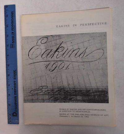 Philadelphia: Philadelphia Museum of Art, 1962. Paperback. VG-. Some tanning, wear, and/or soiling a...
