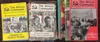 The African Communist [26 different issues]