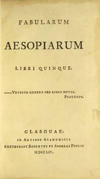 Fabularum Aesopiarum libri quinque