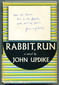 image of RABBIT, RUN. (With somewhat cranky inscription)