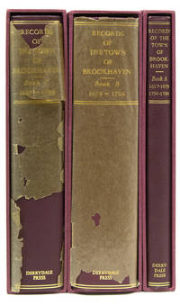 Records of the Town of Brookhaven by (Brookhaven) - Hardcover - First editions, one of 200 copies - 1932 - from James Cummins Bookseller and Biblio.com