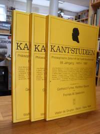 Kant-Studien - Philosophische Zeitschrift der Kant-Gesellschaft, 88. Jahrgang 1997, die Hefte 1, 3 und 4,