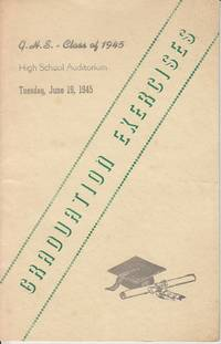 image of GRADUATION EXERCISES.  G. H. S. [Greenfield, Massachusetts High School] - Class of 1945
